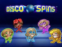 Автомат Disco Spins на деньги