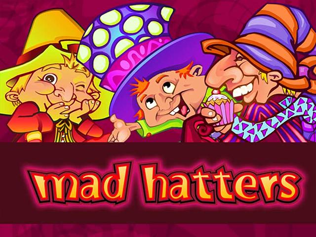 Играйте онлайн в Безумные Шляпники на зеркале Вулкан